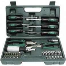 Набор инструмента 45 шт. (пассатижи, отвертки, биты) арт. 65143