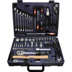 Набор инструмента автомобильный CrV, Профи, 72 шт. арт. 65172