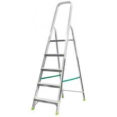 Лестница-стремянка, алюминиевая, 3 ступени, вес 3,3 кг арт. 65351
