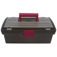 "Ящик для инструмента 16"" вишневые замки и ручка арт. 65504"