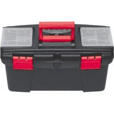 """Ящик для инструмента 16"""", съемный лоток, 2 съемных органайзера арт. 65568"""