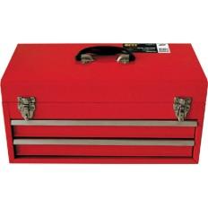 Ящик для инструмента металлический с 2-мя выдвижными полками арт. 65683
