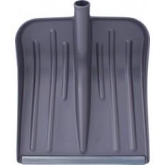 Лопата для уборки снега пластмассовая, малая ( 360 х 400 ), без черенка. арт. 68098