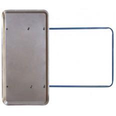 Движок для уборки снега стальной, толщ.полотна 0,9мм, 1060х540 мм арт. 68132