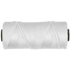 Нить капроновая на бобине 1,1 мм х 100 м, 660 текс, р/н=35 кгс, белая арт. 68322