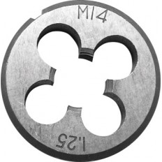 Плашка метрическая , легированная сталь 10х1,0 мм. арт. 70826