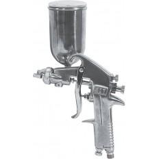 Краскопульт пневматический верхний металлический бачок 300мл. арт. 81016